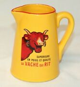 Editions Clouet Milk Pitcher La Vache Qui Rit Made In France Laughing Cow
