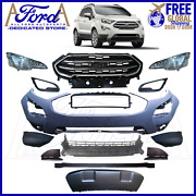 Ford Ecosport 2013-2021 Front Bumper Cover Kit Complete Gn1z-17757 Gn1z-17b968