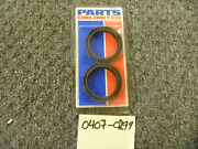 2003-2012 Parts Unlimited Bmw F650 Motorcycle Fork Seals 0407-0299 Oem New