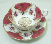 Paragon Fine Bone China Cup And Saucer 554d