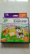 Leapfrog Leapster Explorer Pet Pals Game Leap Pad, Leap Pad 2,3,gs,xdi Ultra New