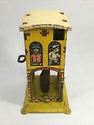 Capitol Hill Racer Tin Litho Wind Up Toy 1930s Unique Art Mfg Building Only