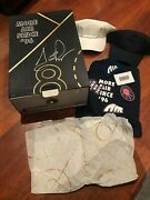 Signed By Scottie Pippen Nike Uptempo Special Box And T Shirts Signature Autograph