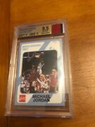 Michael Jordan Game-used Jersey Logo Patch 1989-90 Collegiate Collection Bgs 9.5