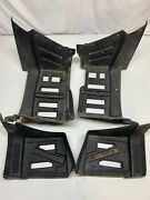 Arctic Cat 650 H1 2007 Atv Left And Right Side Foot Well Rest Foot Guard Brush