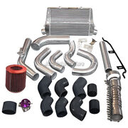 Cxracing Intercooler Piping Kit + Bov For 98-05 Lexus Is300 2jz-ge Na-t 2jzge