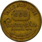 Cascarets Ccc Laxative Best For The Bowels Kramer Indiana In Advertising Token