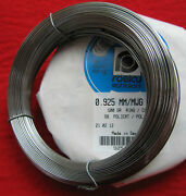Piano Wire/spring Steel-and039roslauand039-full 1/2kg 500gram For Harpsichords Spinets