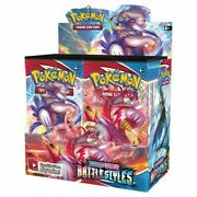 Pokemon Battle Styles Booster Box - 36 Packs - Brand New - Ships Now