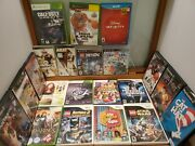 Wii + Xbox360 + Xbox + Ps2 + Ps3 Game Lot 21 Lotd, Lego, God Of War, Disney