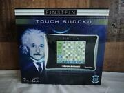Einstein Touch Sudoku Touch Screen Electronic Game New In Box