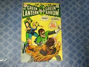 Green Lantern/green Arrow 78 In Mid To High Grade/fnvf- Neal Adams Art Ow Pages