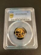 1958 Lincoln Wheat Cent Pcgs Pr 66 Rd With Gold Shield