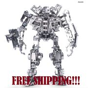 Diy New Assemble Model Kit Home Decor 3d Stainless Steel Puzzle Transformed Bot