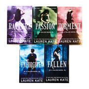 Fallen Series 5 Books Young Adult Collection Paperback Set Pack By Lauren Kate