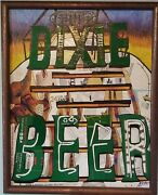 Dixie Brewery Tower Collage Using Dixie Beer Boxes Original/signed
