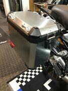 R1200gs R1250gs Oem Luggage Pannier Kit With Carrier Racks And Locks Everything