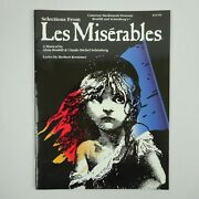 Selections From Les Miserables Sheet Music Book For Flute