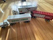 3 Tractor Trailer Lot Keebler Nylint Campbell Soup Company Super Fresh