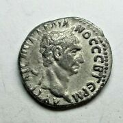 Very Rare Trajan Drachme 98-99 Ancient Authentic Roman Coin