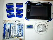 Vtech Innotab 3s Blue Kids Educational/gaming Tablet With Charger And 6 Games