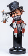 Red Skelton By Pete Apsit Legends A Tribute To Freddie Pewter Figurine /999