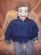 One Of A Kind, Custom Built Jerry Mahoney Ventriloquist Dummy Approx 32 Tall