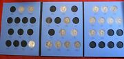 1916-1930 Standing Liberty Quarters In New Whitman Folder 21 Coins Sl15