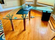 Executive Desk - 3/4 Tampered Glass Anti-scratch Anti-glare Great For Workin
