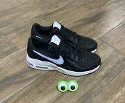 🔥new Nike Air Max Excee Running Sneakers Black White Hydrogen Blue Women Sz 9.5