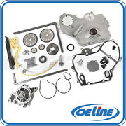 For Chevrolet Pontiac 2.0 2.2 Timing Chain Kit Gasket Water Oil Pump Oiler Bolts