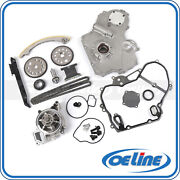 Timing Chain Kit For 00-08 Chevy 2.2l Gasket Oil Water Pump Gear Oiler Bolts