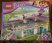 Brand New Lego Heartlake Airport 41109 Sealed Box Discontinued