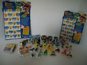 Monster Rancher Mini Figures Huge Lot Of 48, Good Condition, Includes 46 Cards