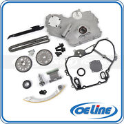 Timing Chain Kit For 00-10 Chevy Pontiac 2.2l Oil Pump Gasket Gear Oiler Bolts