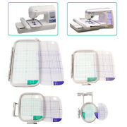 4pcs Embroidery Hoop Set For Brother Sewing Machines Pe700,pe700ll,pe750d,pe770