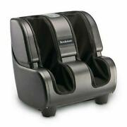 Brookstone Foot And Calf Massager, Relaxation, 4 Programs, 3 Intensity Levels