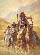 Legend Of Geronimo Sold Out Limited Edition Canvas By Howard Terpning