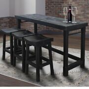 Parker House - Veracruz Everywhere Console With 3 Stools - Ver09-4