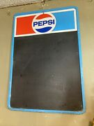 1979 Pepsi Menu Board Sign Made By Stout Sign Company