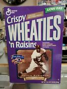 Jackie Robinson Brooklyn Dodgers Wheaties Box 50th Anniversary Collector's New