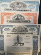 100 Different Stock Certificates Free Shipping