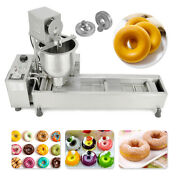 Commercial 3 Sets Free Mold Automatic Donut Maker Making Machine Wide Oil Tank