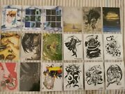 Final Fantasy Art Museum Trading Cards First Edition Ff1 Ffi - 18 Cards - Rare