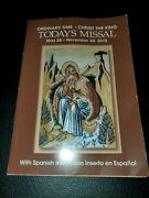 Ordinary Time - Christ The King Today's Missal May 26 - Nov. 30, 2013 [paperback