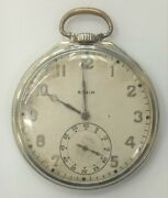 Elgin National Watch Co. Pocket Watch Grade 479 As Is For Parts Only 1928
