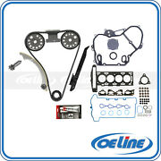 Timing Chain Kit And Head Gasket Set For 2007 2008 Chevrolet Cobalt 2.2l Dohc