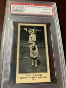 1916 Sporting News Lee Magee Psa 9 Blank Back Held 2 Mlb Records The Only 9
