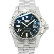 Breitling Avenger Seawolf A17330 Date Automatic Black Dial Mens 90120064
