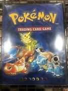 1999 Wizards Of The Coast Pokemon Trading Card Game Collectors Album